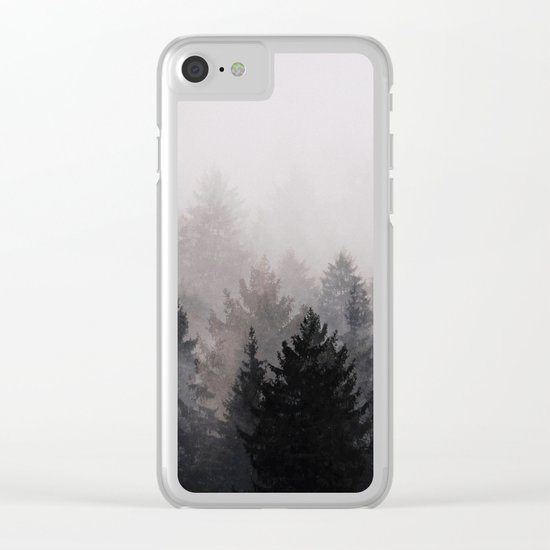 Darkside Clear iPhone Case
