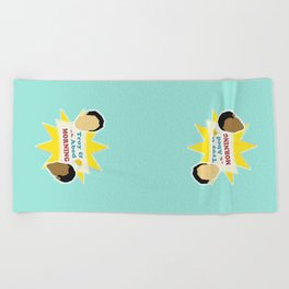 Community Troy & Abed in the Morning Beach Towel