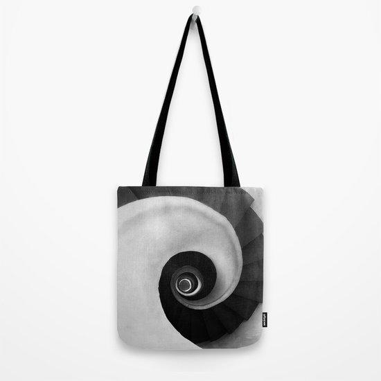 Minimal B&W IV Tote Bag