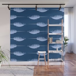 Narwhals are the Unicorns of the Sea Wall Mural