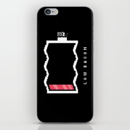 Low Bacon iPhone Skin