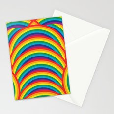 In A Rainbow Stationery Cards