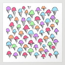 ice cream ice cream -4- Art Print