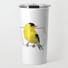 Iowa – American Goldfinch Travel Mug