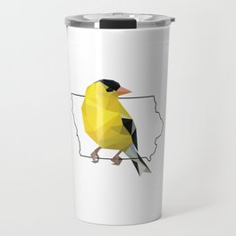 Iowa – American Goldfinch Travel Mug