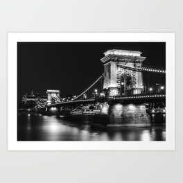 The charm of Budapest Art Print
