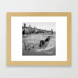 Walberswick Beach Framed Art Print