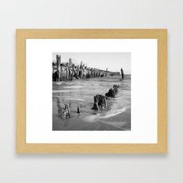 Walberswick Beach Framed Art Print