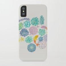 A Serene Succulent Underwater World Slim Case iPhone X
