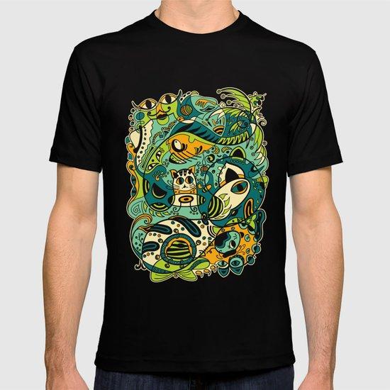 Cat - 12 Animal Signs T-shirt