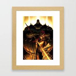 Slayer and Executioner Framed Art Print