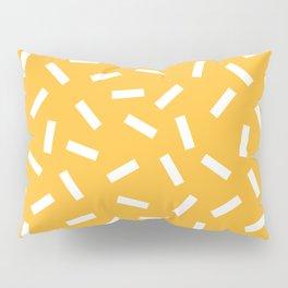 White + Macaroni Pillow Sham