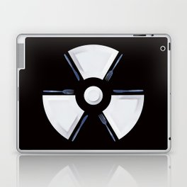 Polluted - Dinner Time Symbol Laptop & iPad Skin