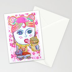 LeeLoo the Icecream Thief Stationery Cards
