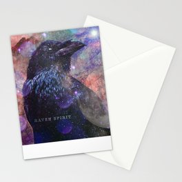 Spirit of the Raven - Shamanic Power Animal  Stationery Cards