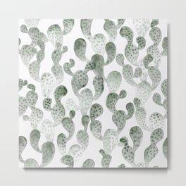TRYPOPHOBIA, cactus pattern by Frank-Joseph Metal Print