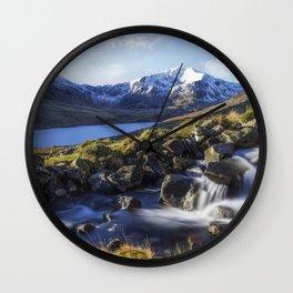 Glyder Fawr Range Wall Clock