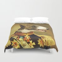 general Duvet Covers featuring General Bully by Bakus