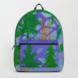 Blue In the woods Backpack