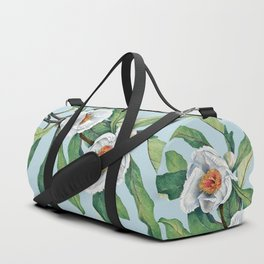 Franklin tree flowers Duffle Bag