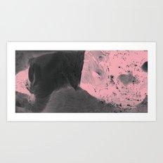 Pink Erosion Art Print