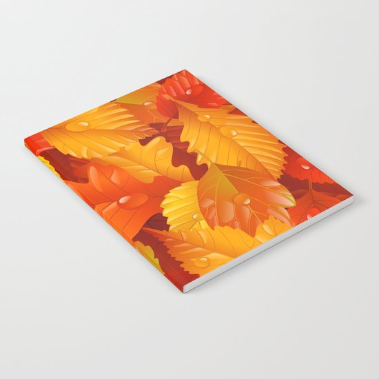 Autumn leaves #2 Notebook