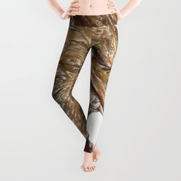 Head with sharp teeth Leggings