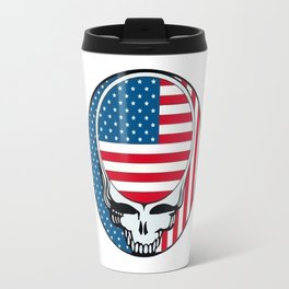 The American DeadHead Travel Mug