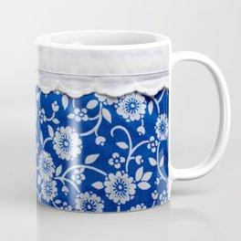 farmhouse blue floral Coffee Mug