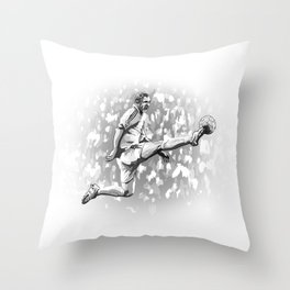 Zinedine Zidane - Real Madrid Throw Pillow