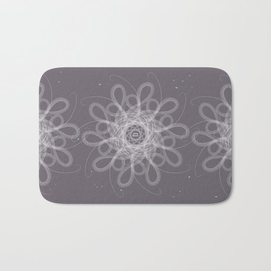 Ornament - Stormy Blossom Bath Mat