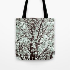 Winter Petals Tote Bag