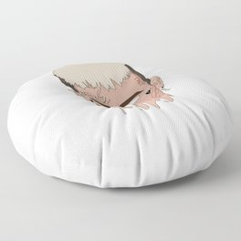 lil peep Floor Pillow
