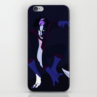 nightcrawler iPhone & iPod Skins featuring Nightcrawler by rdjpwns