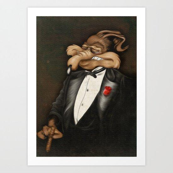 ACME Corporation CEO Art Print