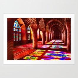 Shiraz, Iran Art Print