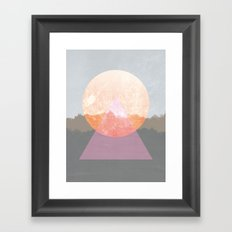 Landscape Abstract 3 Framed Art Print