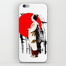 Kyotogirl2 iPhone & iPod Skin