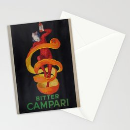 Vintage poster - Bitter Campari Stationery Cards