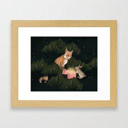 the peace offering Framed Art Print
