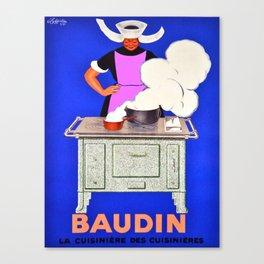 Vintage poster - Baudin Canvas Print