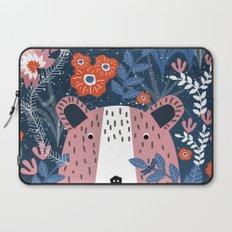 Bear Garden Laptop Sleeve
