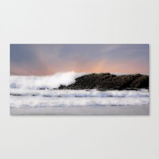 Passion in the waves Canvas Print