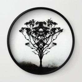 Angel of Solitude Wall Clock