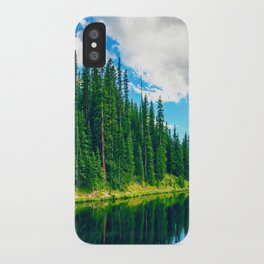 Densely Pines iPhone Case