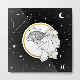 Pisces [Horoscope Collection] Metal Print