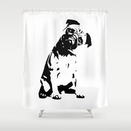 PUG DOG GIFTS Shower Curtain
