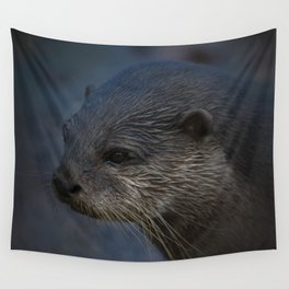 Small Clawed Otter Wall Tapestry