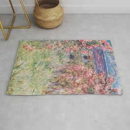 Monet, The House Among The Roses, 1917-1919 Rug
