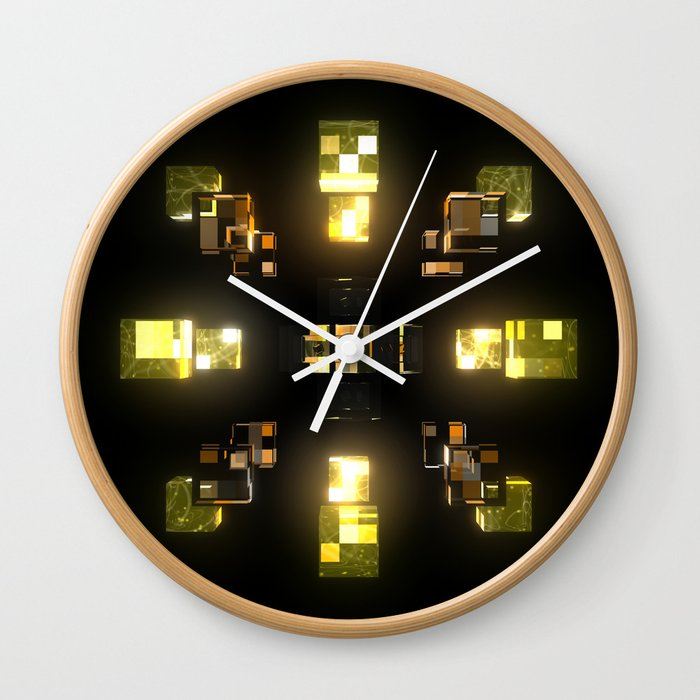 My Cubed Mind: Frame 100 Wall Clock